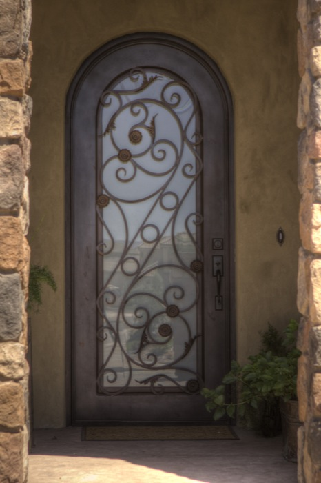 Artisan Iron Doors